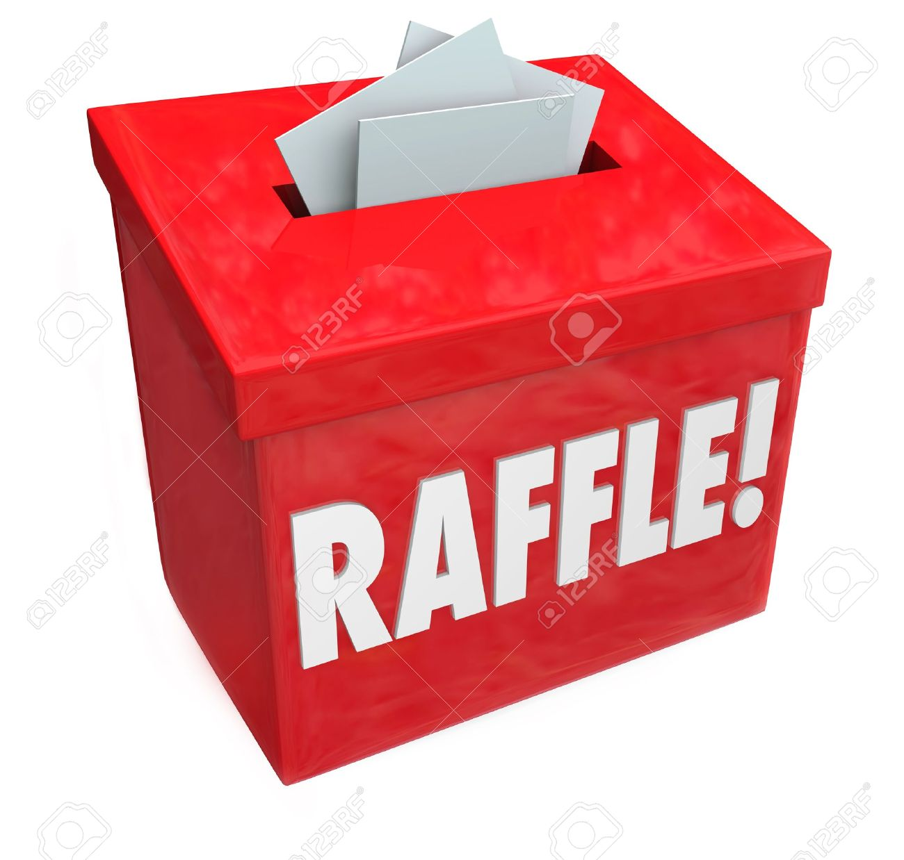 raffle stock vector illustration and royalty raffle clipart raffle dropping tickets inside a raffle box for a 50 50 or other fundraising