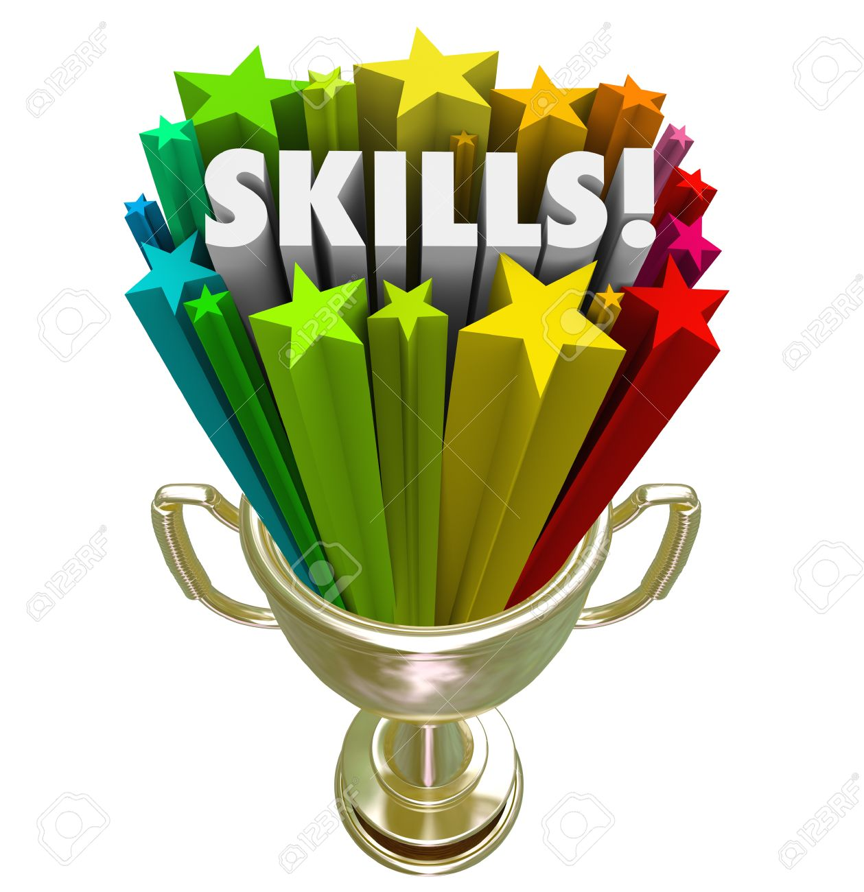 skills word in gold trophy illustrating you have the best skillset skills word in gold trophy illustrating you have the best skillset experience or knowledge needed