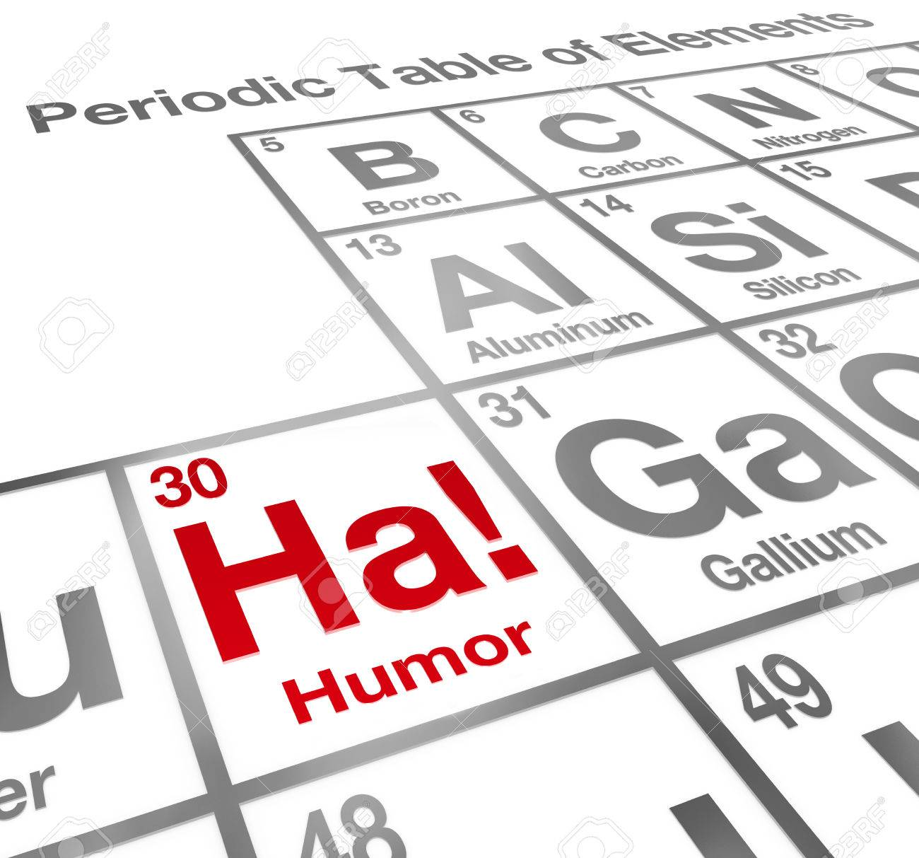 Ha the element of humor on a periodic table to illustrate the ha the element of humor on a periodic table to illustrate the value of comedy and urtaz Choice Image