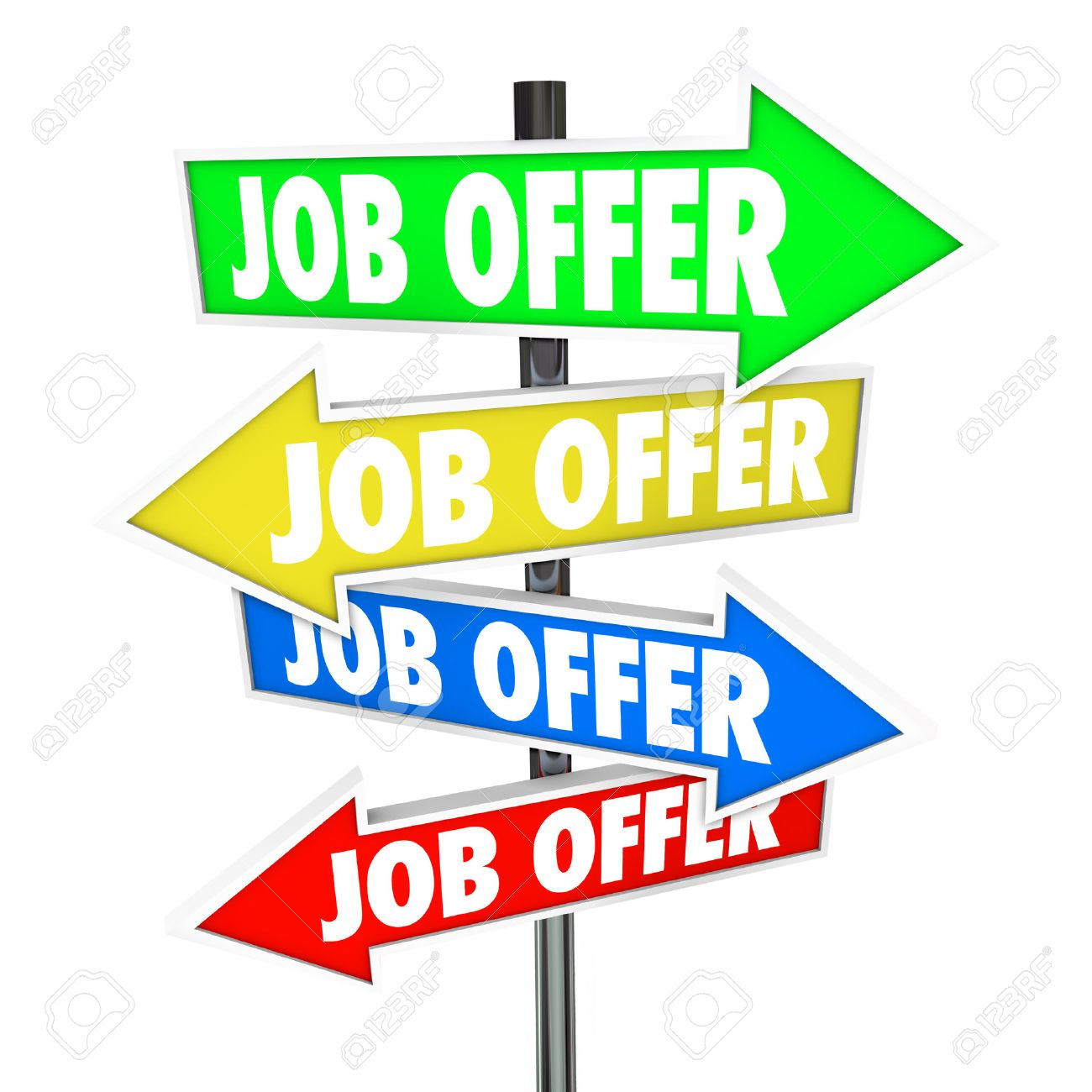 offering job images stock pictures royalty offering job offering job job offers on several arrow signs new career opportunities and work recruitment that