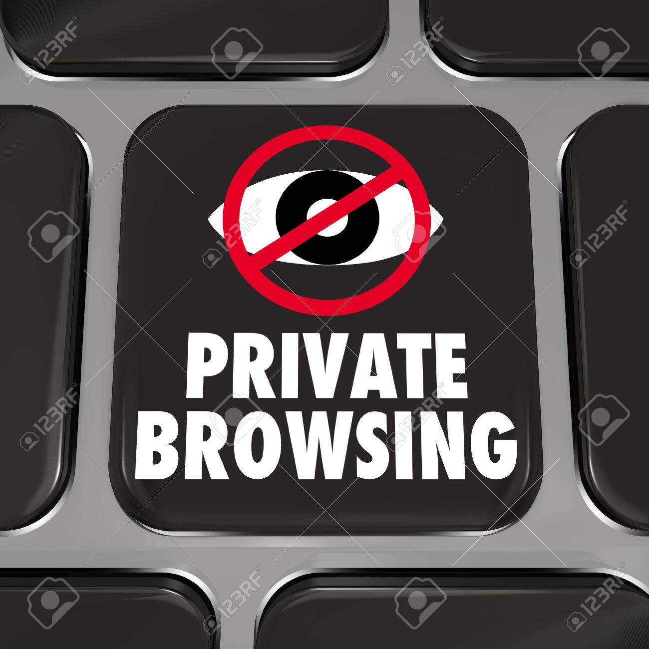 Private browsing and an eye symbol on a computer laptop keyboard private browsing and an eye symbol on a computer laptop keyboard key stock photo 25837622 biocorpaavc Gallery