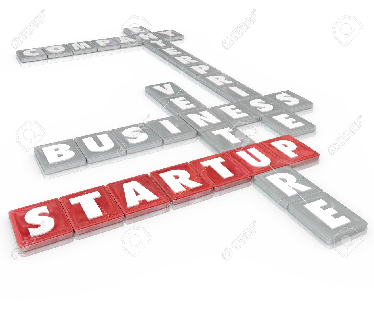 Startup words on letter tiles including company enterprise stock startup words on letter tiles including company enterprise business and venture to illustrate starting spiritdancerdesigns Image collections