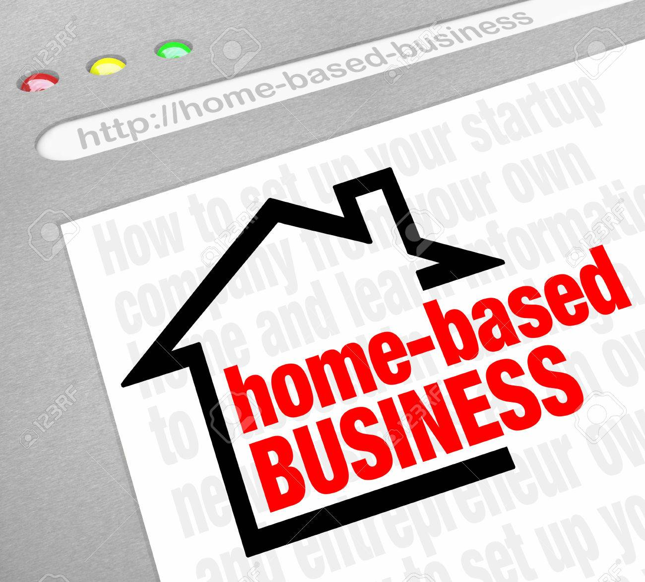 Home Based Business Website Resource Offering Advice, Tips, Help ...