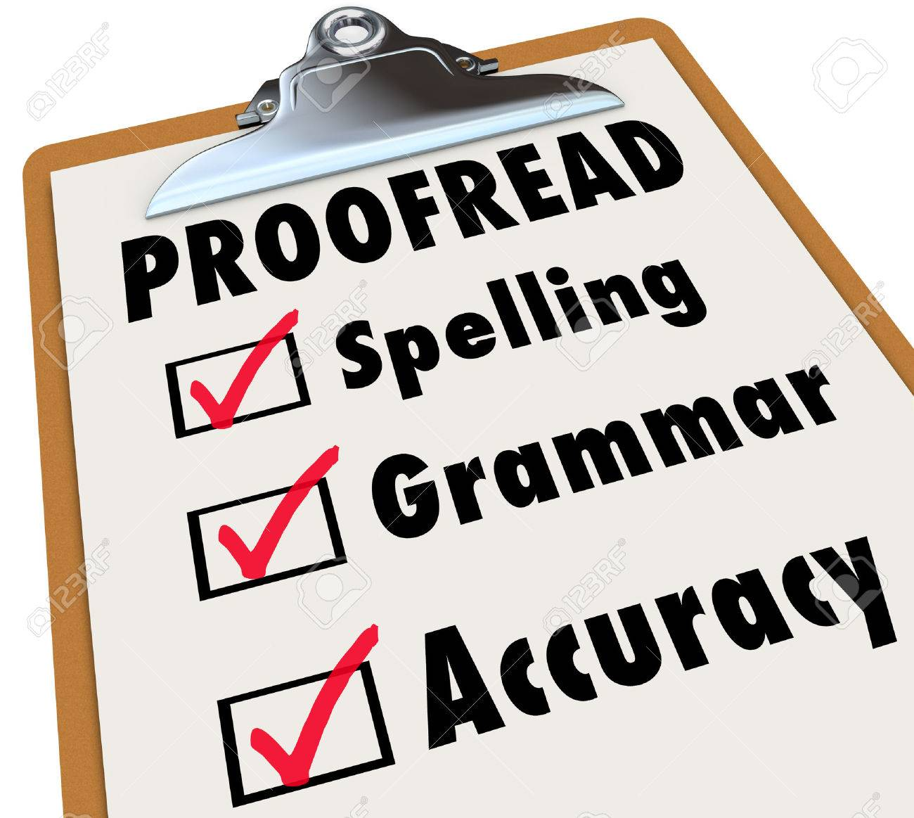 Proofreading essay