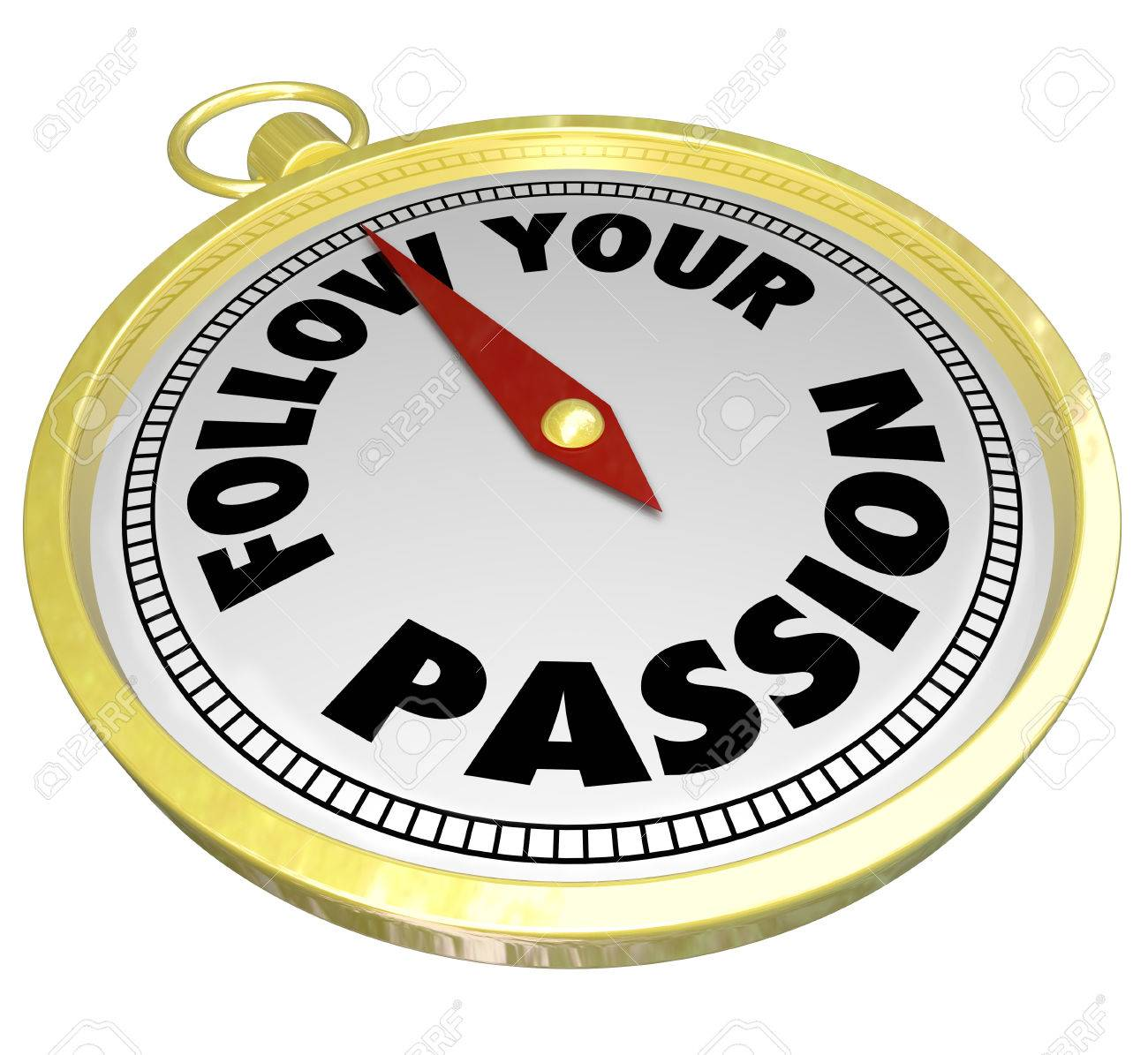 follow your passion words on a d golden compass directing and follow your passion words on a 3d golden compass directing and leading you to pursue your