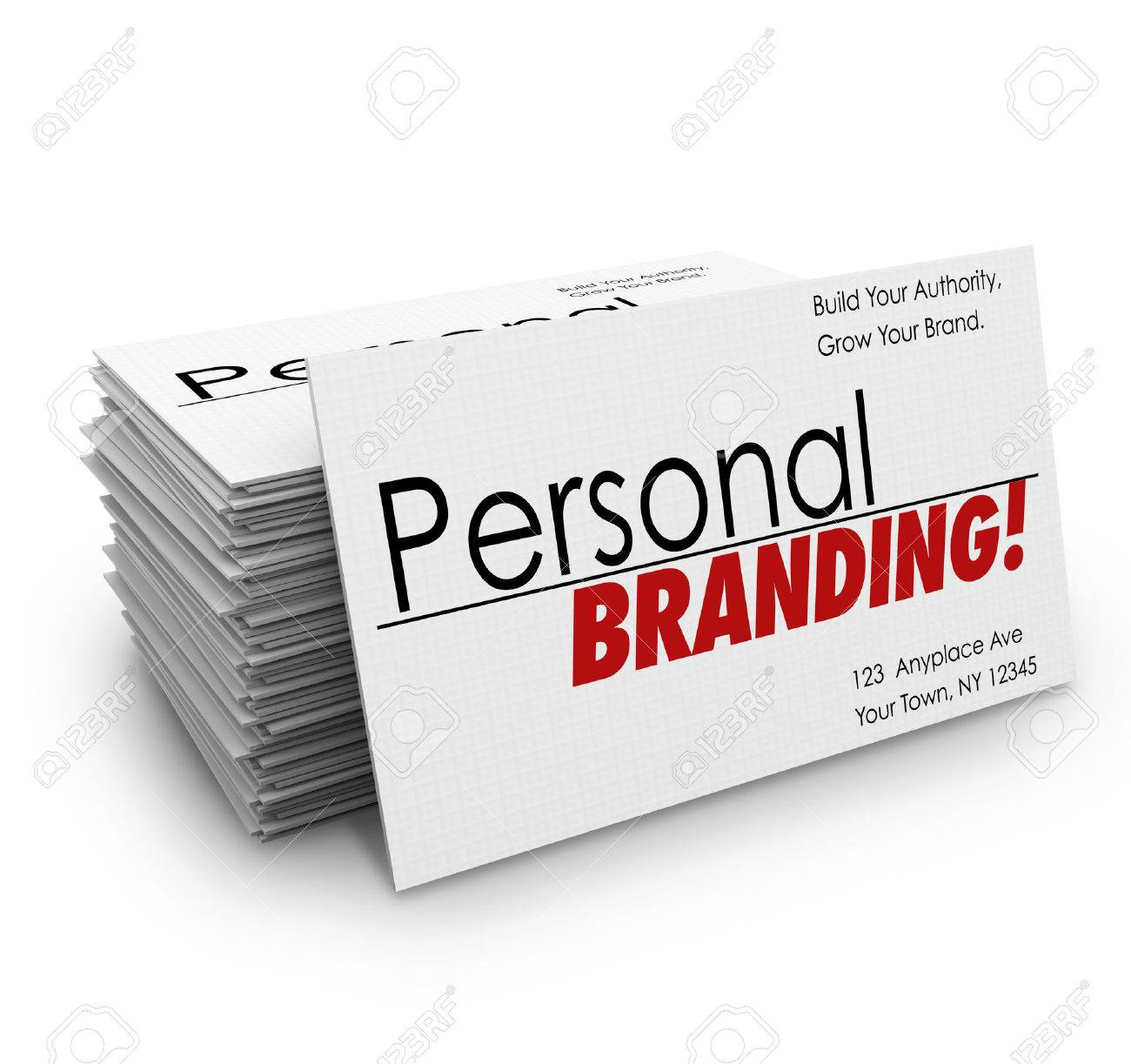 Personal Branding Words On Business Cards To Advertise Your ...