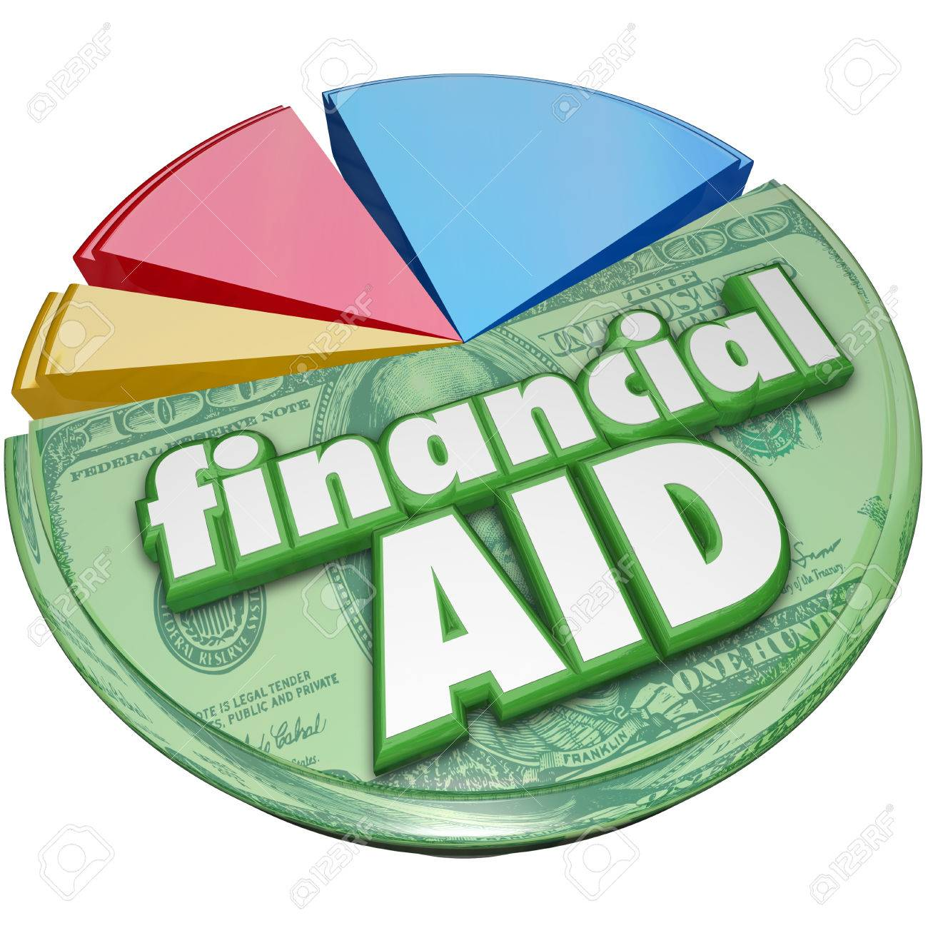 Financial aid 3d words on a pie chart of money support financial aid 3d words on a pie chart of money support assistance or help nvjuhfo Gallery