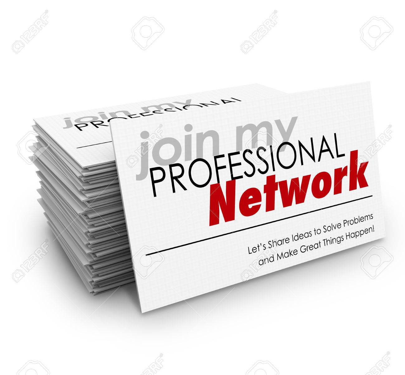 Join my professional network words on a stack of business cards join my professional network words on a stack of business cards and the phrase lets share reheart Image collections