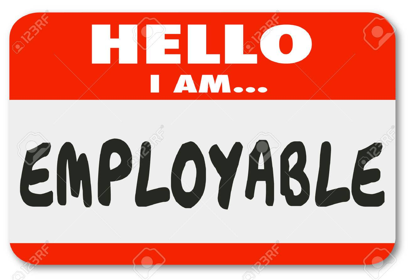 qualified employee stock photos images royalty qualified qualified employee hello i am employable words on tag sticker to show you are qualified
