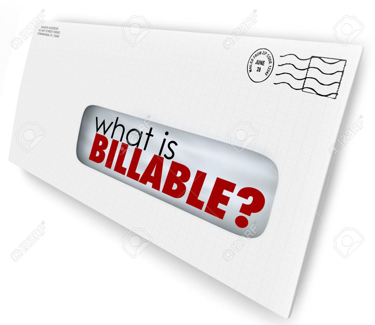 what is billable words in an envelope for a bill or invoice for stock photo what is billable words in an envelope for a bill or invoice for services rendered or products sent