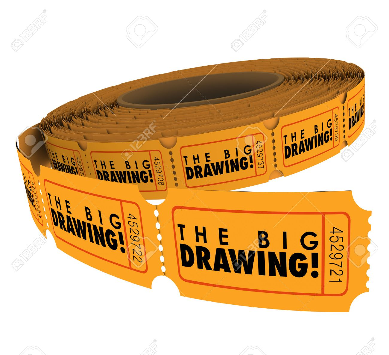 raffle ticket stock photos images royalty raffle ticket raffle ticket the big drawing words on a roll of raffle or contest tickets you