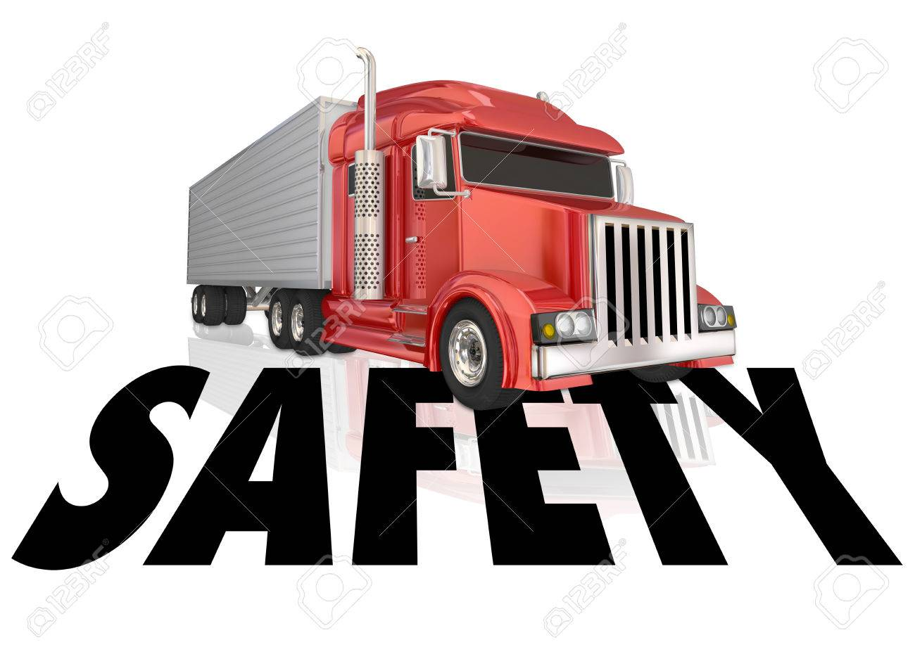 Safety Word To Illustrate Safe Driving And Secure, Accident Free ...