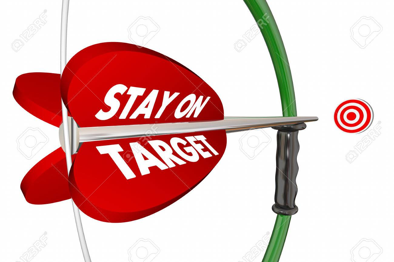 Stay On Target Aim Focus Succe...