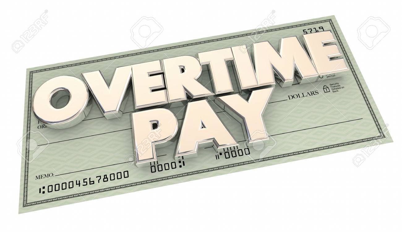 Image result for overtime check