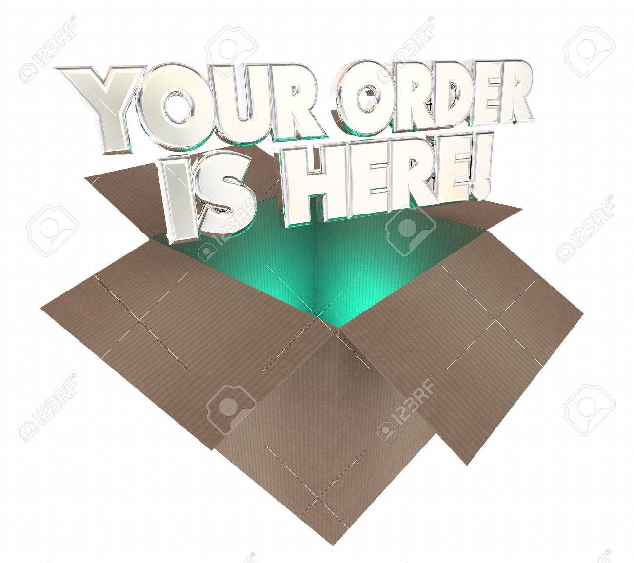 Your order is here box package arrived 3d illustration stock photo your order is here box package arrived 3d illustration stock illustration 66532186 buycottarizona Gallery