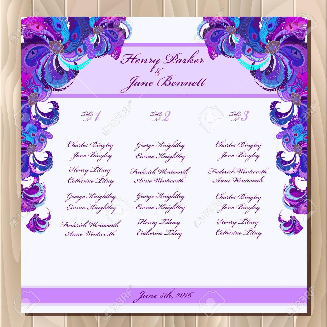 Doc601468 Wedding Guest List Printable Template Sample – Guest List Sample