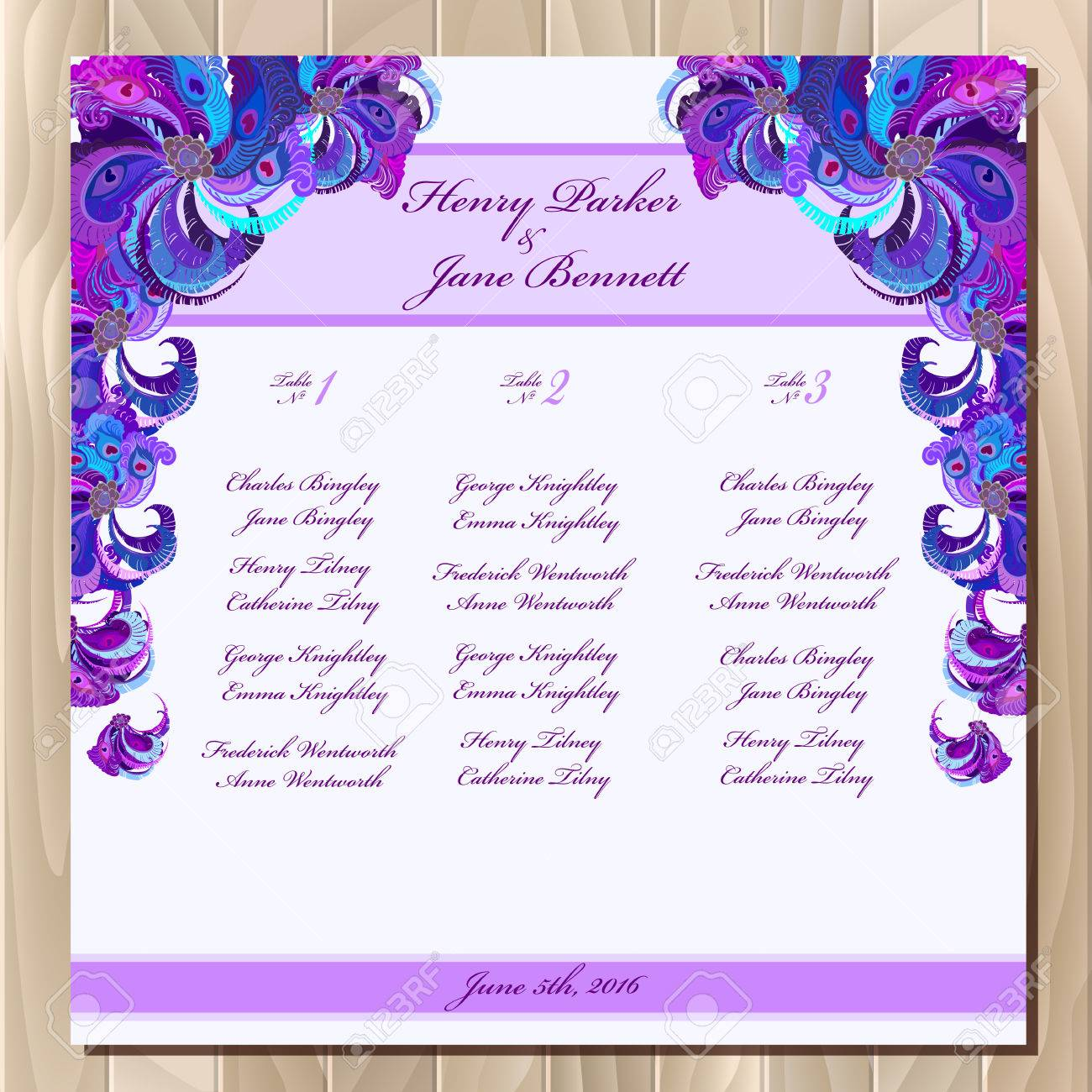 Charmant Gästeliste Hochzeit Vorlage Bilder - Entry Level Resume ...