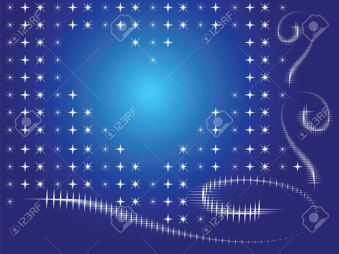 The background is dark blue. Sparkling snow creates a contour drawing of the heart. Stock Vector - 6231902