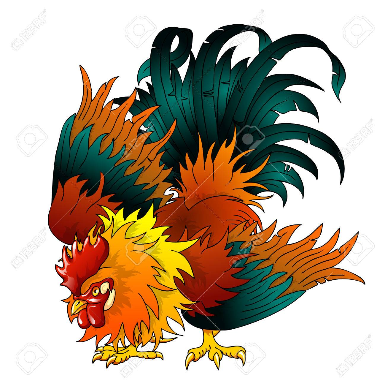 Fighting Roosters Graphics