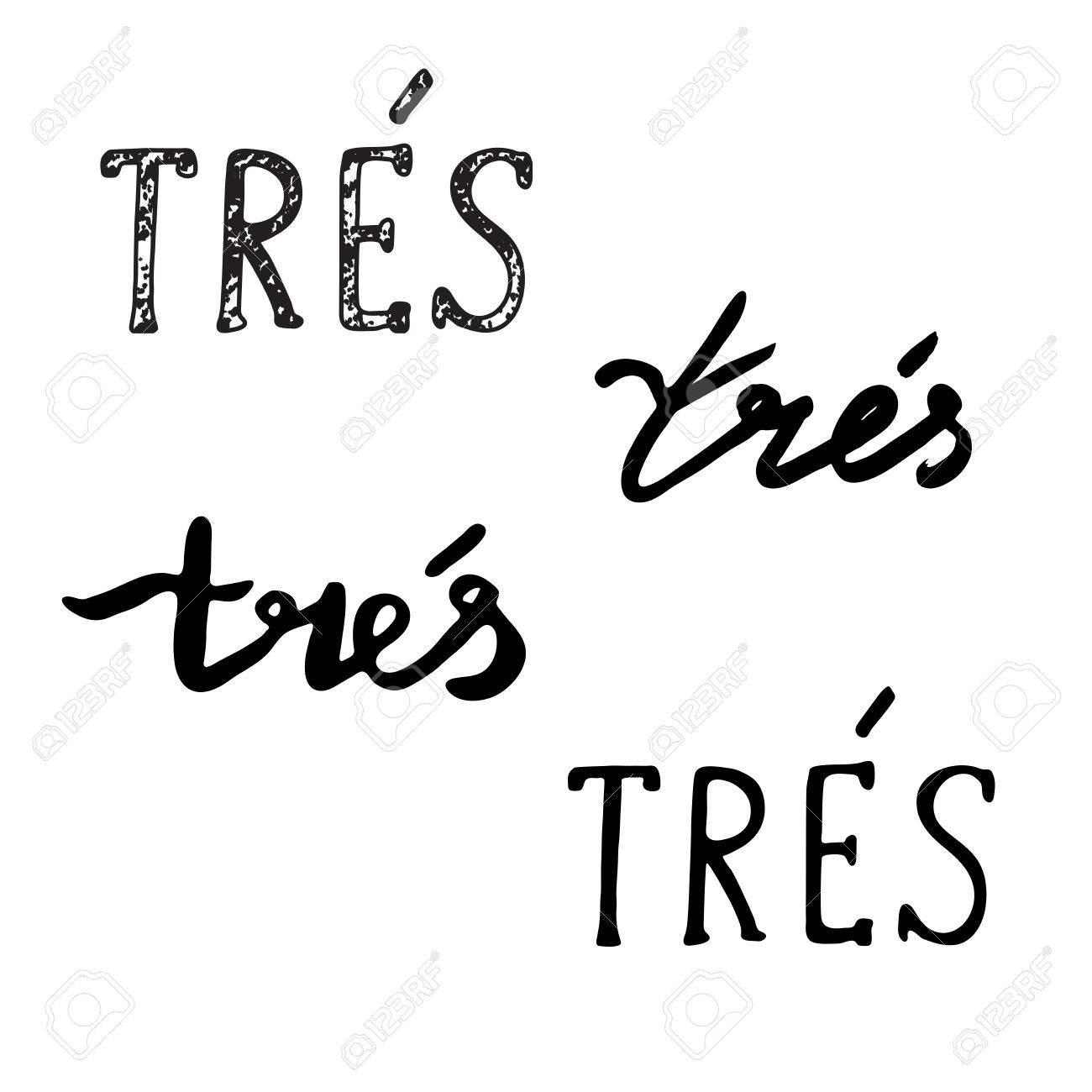 Mano Frases Extraídas Muy En Francés Escrita A Mano Inspirado Cepillo De La Caligrafía Moderna Tarjetas De Felicitación Con Cita De Las Letras