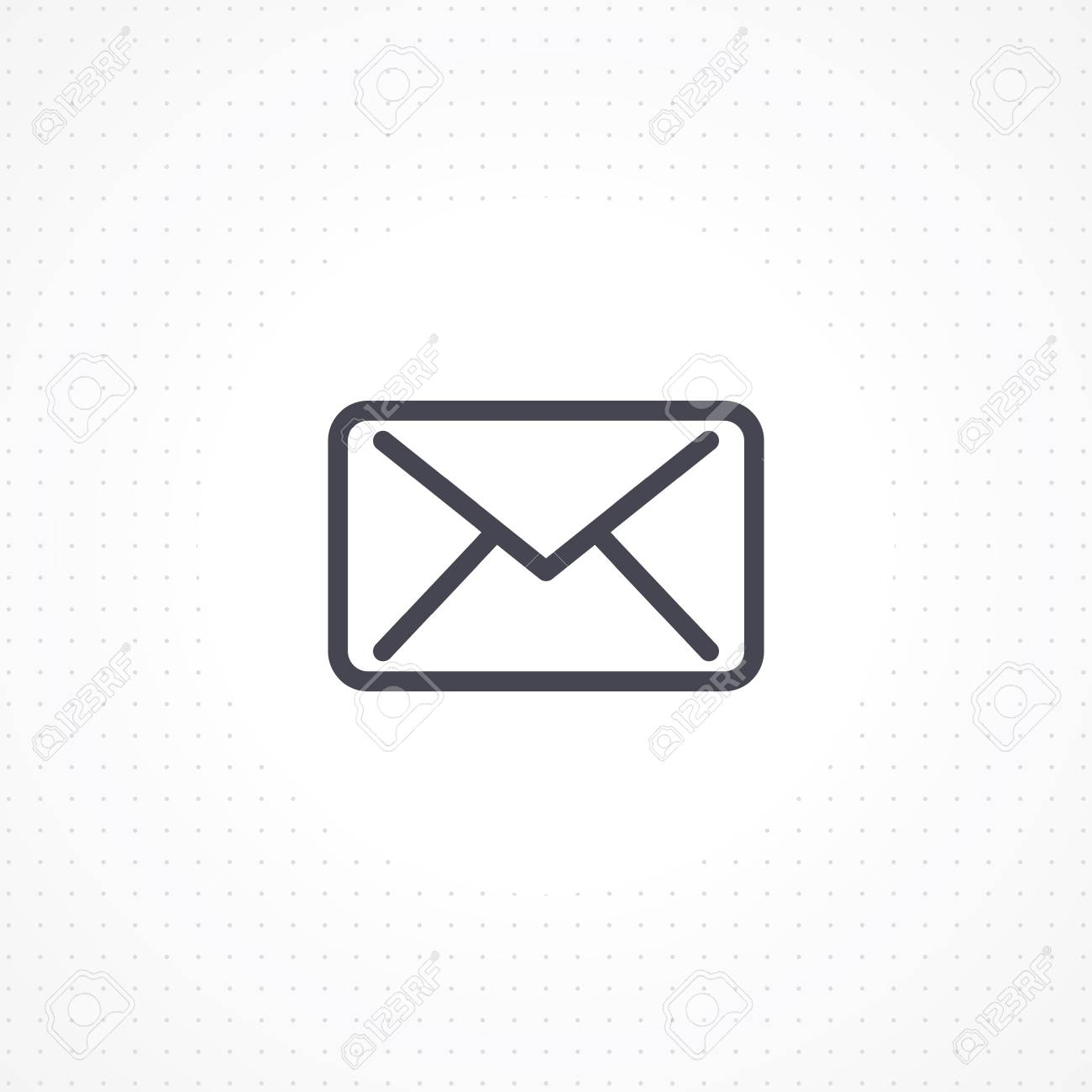 Email icon on white background outline email icon for business email icon on white background outline email icon for business cards and websites flat colourmoves