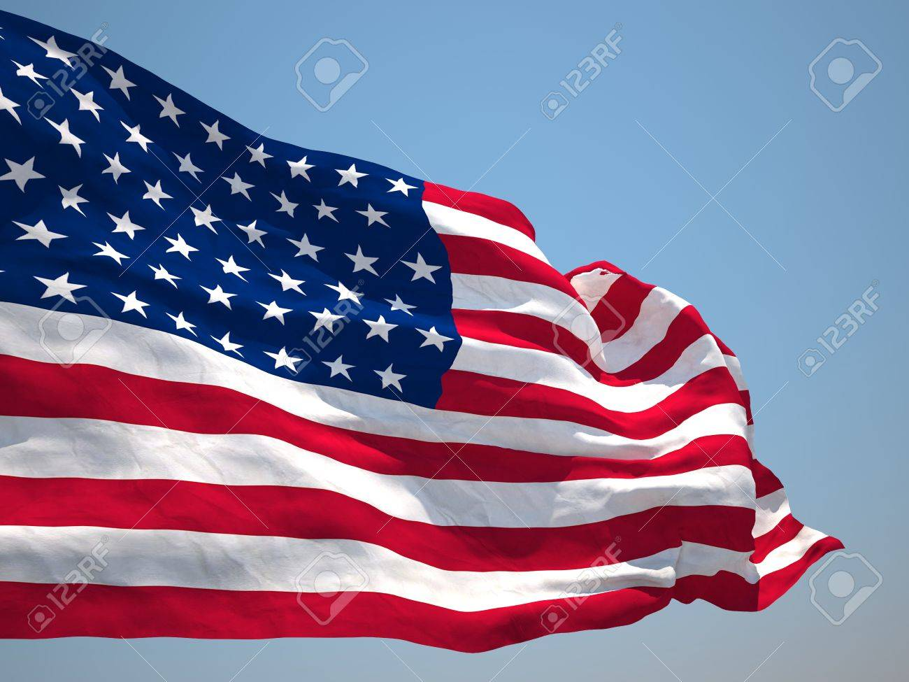 usa united states of america hd flag stock photo, picture and