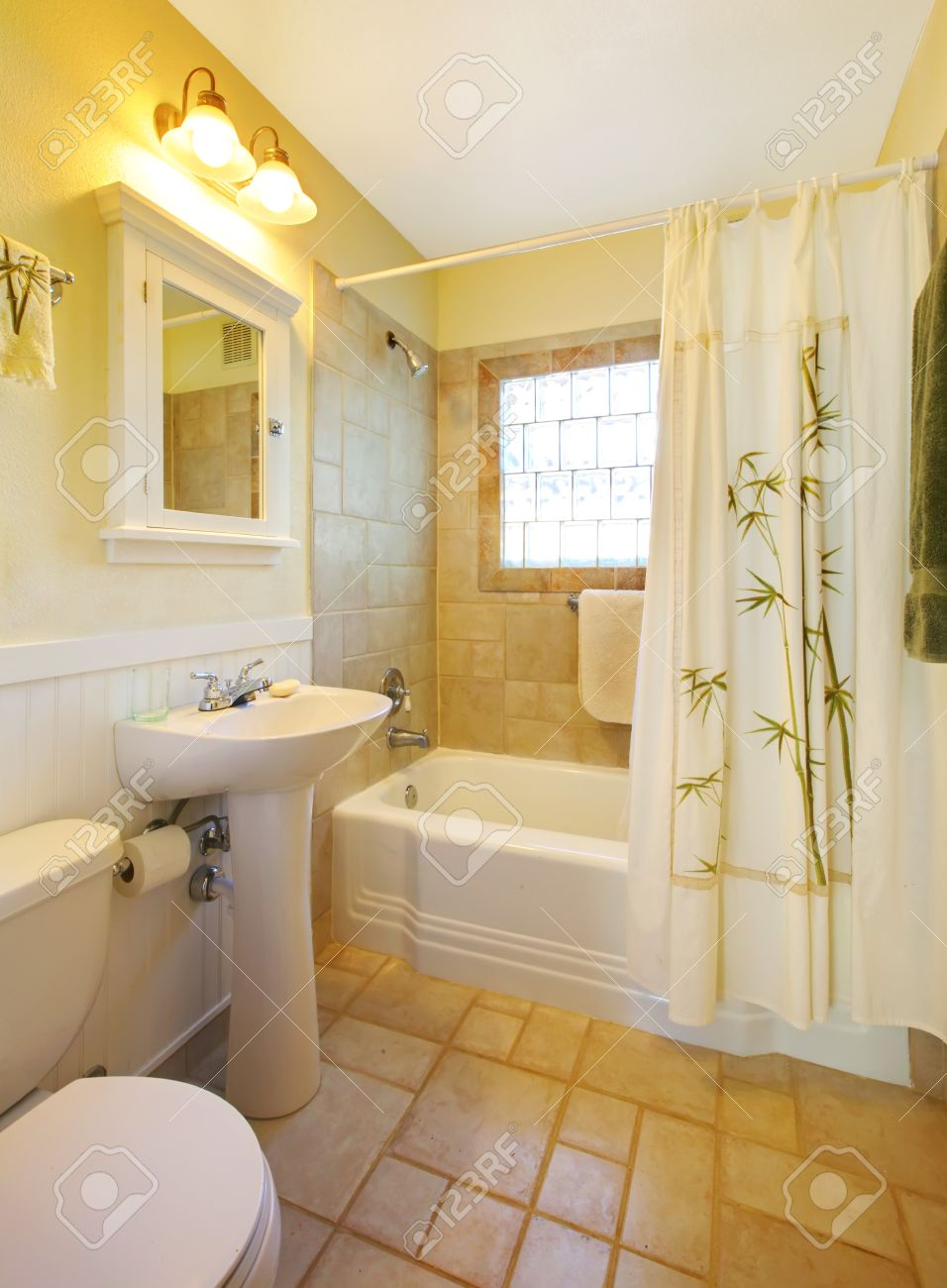 Small Beige Bathroom With Walk In White Shower And White Cabinet  Bangin On  The Bathroom. Designer Bathroom Storage
