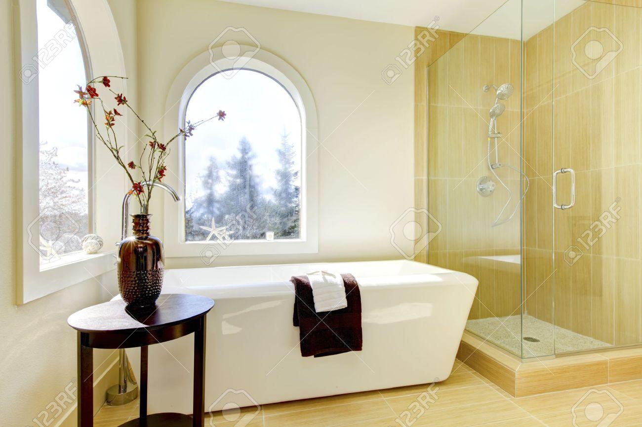 Bagni con doccia e vasca: la doccia nella vasca aggiungendo un ...