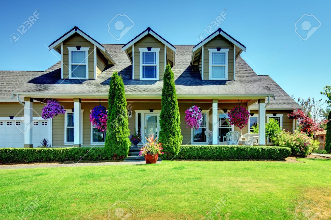 Country Farm Home Exterior country home exterior images & stock pictures. royalty free