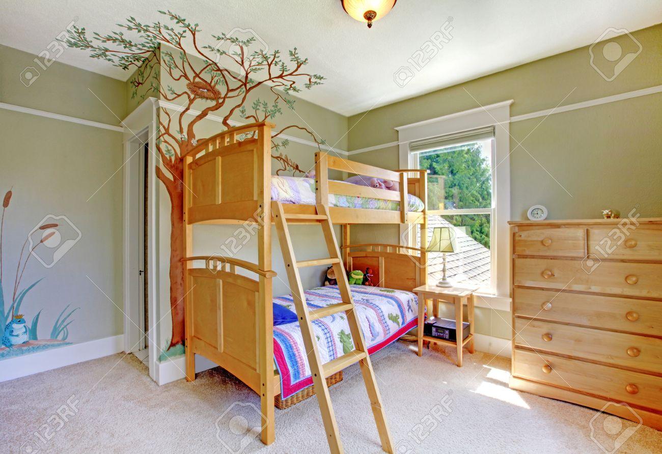 Camera da letto bambino: camera da letto moderna in mansarda. idee ...