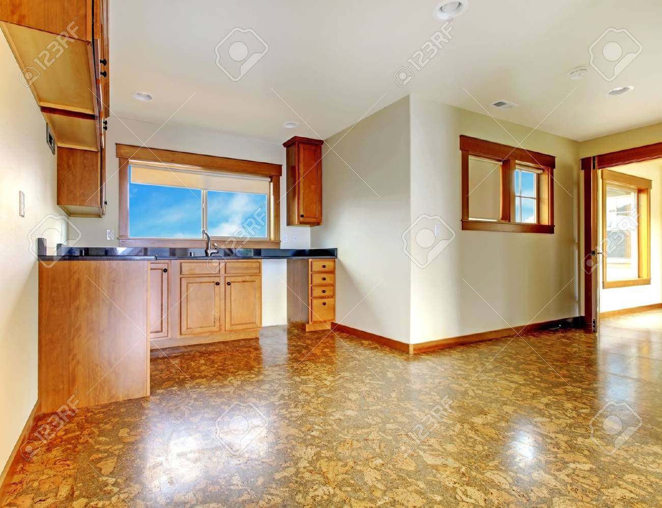 Small Kitche In Mother In Low Apartment Above Garage New Luxury Stock Photo Picture And Royalty Free Image Image 18283804