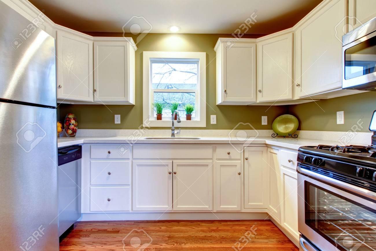 Cozy Kitchen Cozy Kitchen Room With Hardwood Floor White Storage Combination