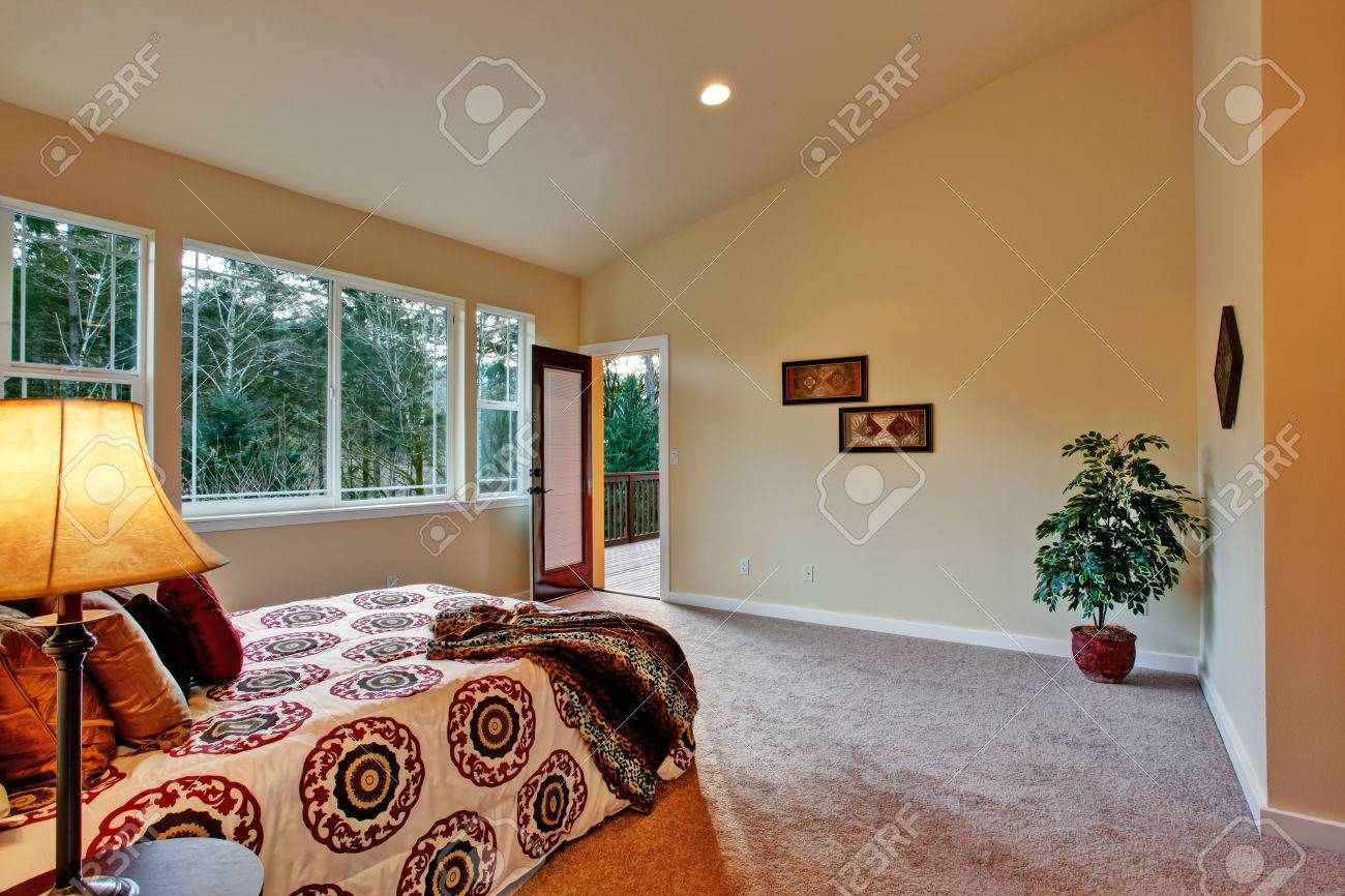 Idee pareti camera da letto moderna : idee arredamento camera ...