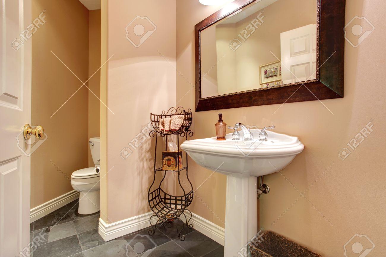 Beige Tile Bathroom Zampco – White and Beige Bathroom