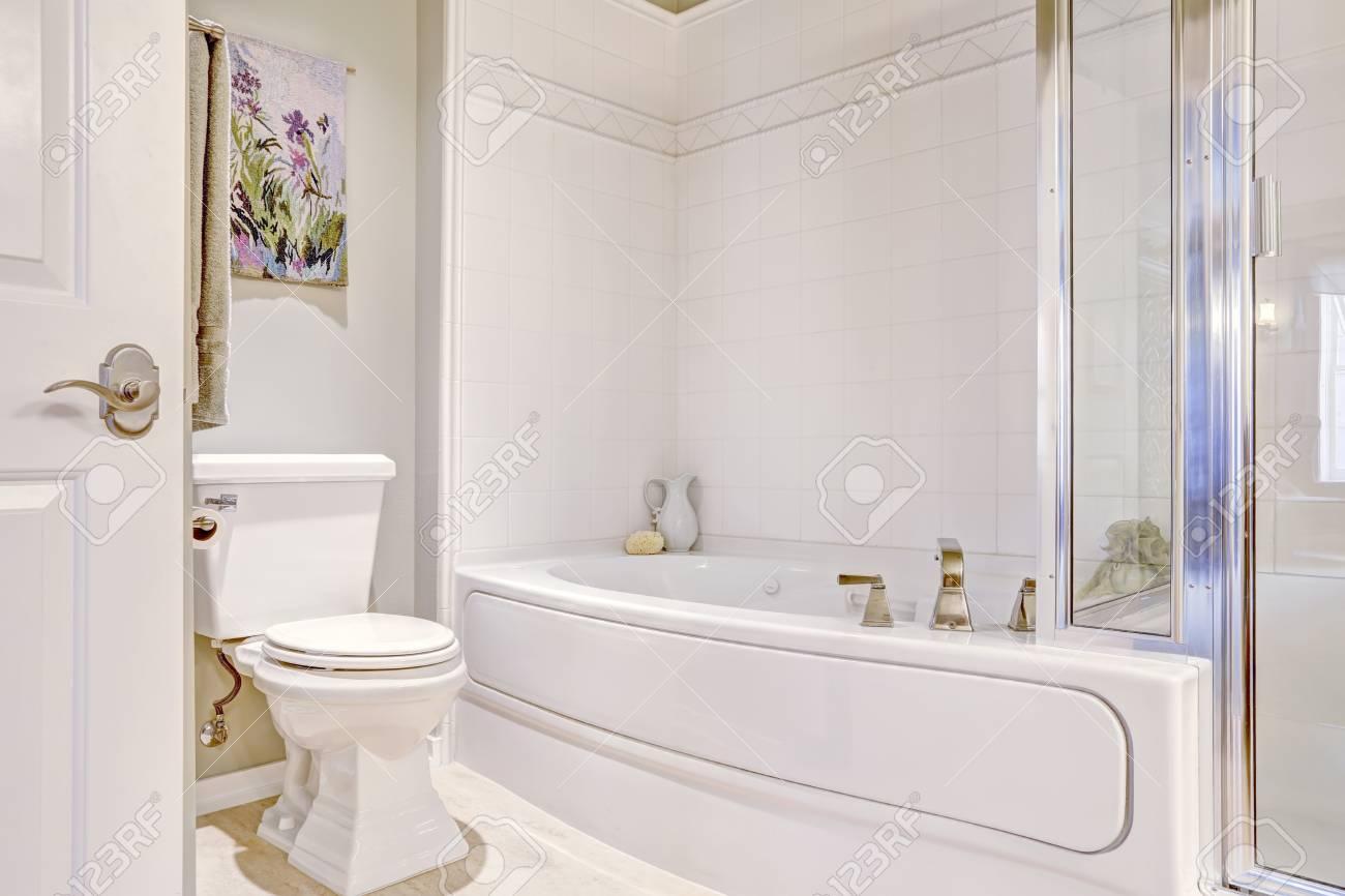 Deco toilette bleu idee faience wc