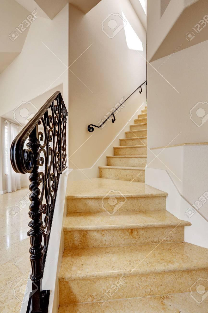 Pasamanos Escaleras Interiores Escaleras De Madera Aluminio