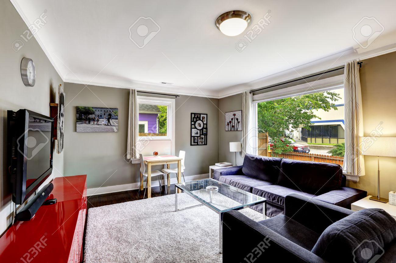 Divano Rosso E Nero : Arredamento casa moderna proposte di design per la vostra