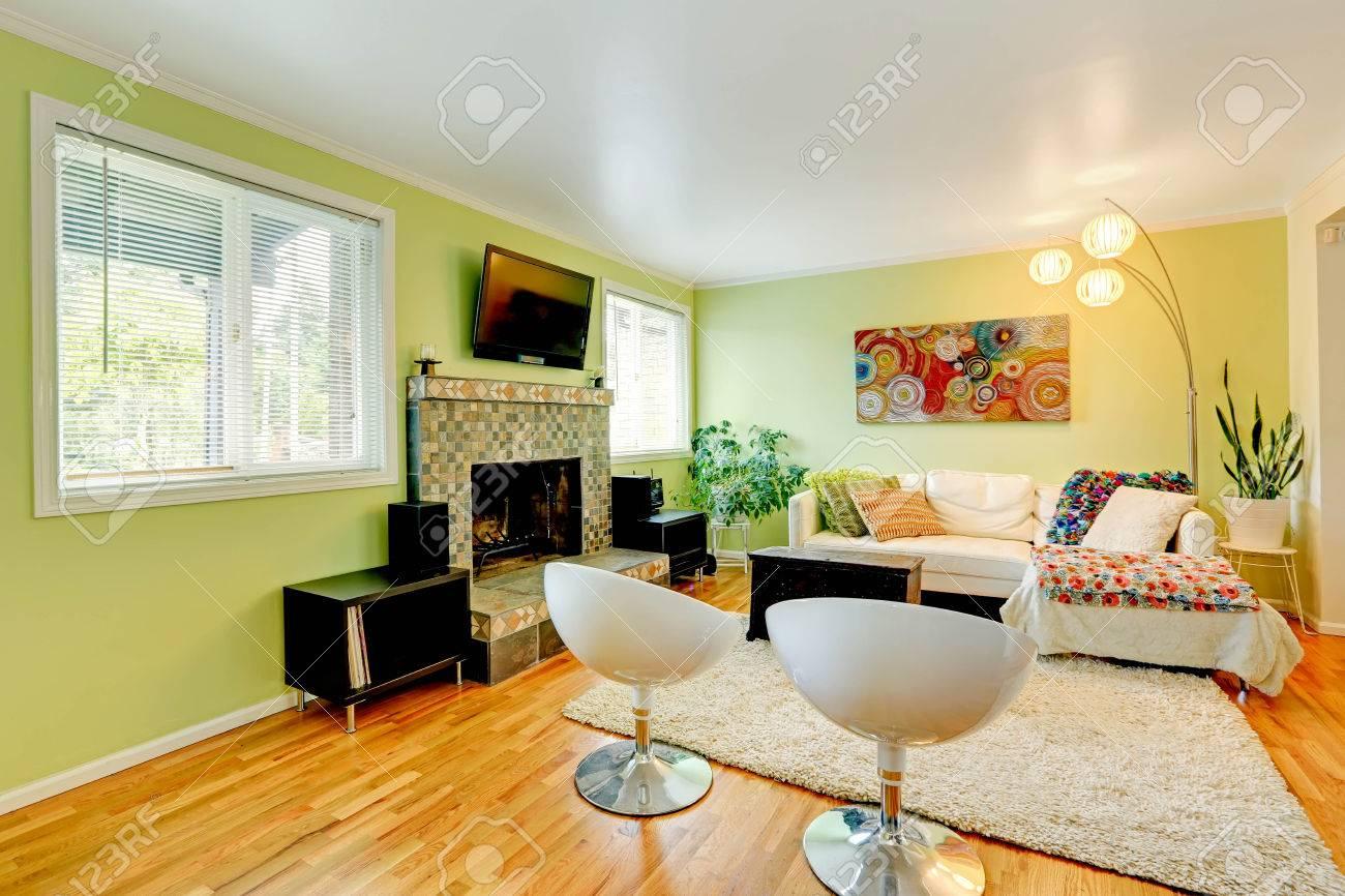 White Furniture Living Room Light Mint Tone Living Room With White Furniture And Fireplace