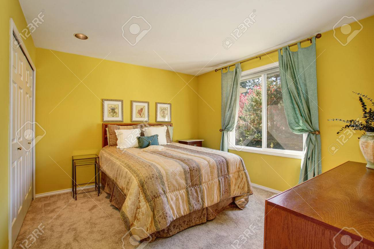 chambre ~ Awesome Chambre Jaune Grise Contemporary Design ...