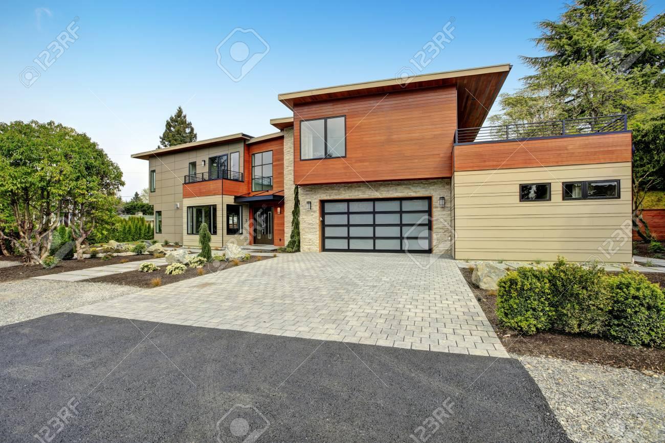 Haus Im Zeitgenössischen Stil In Bellevue, WA, Northwest, USA ...