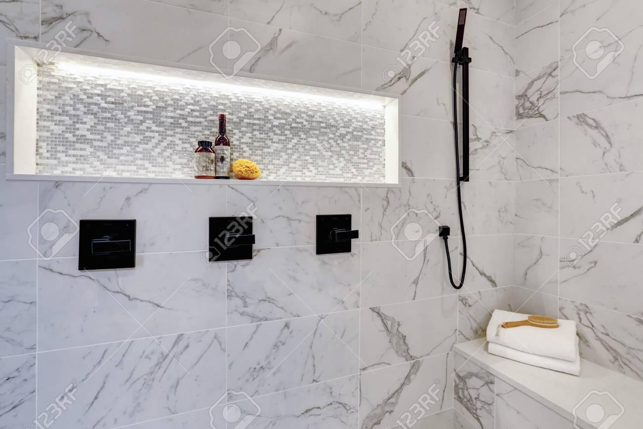 Home Architec Ideas Marble Luxury Modern Bathroom Designs