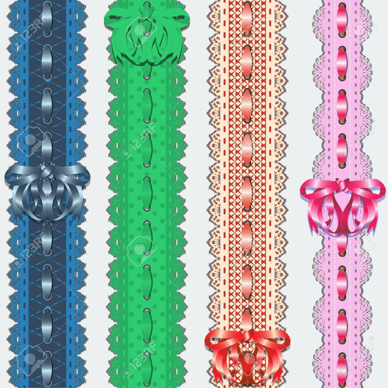 How to scrapbook with ribbon