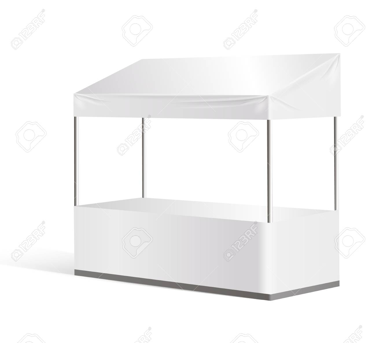Exhibition Stand Tables : Furniture hire for exhibition displays trade shows