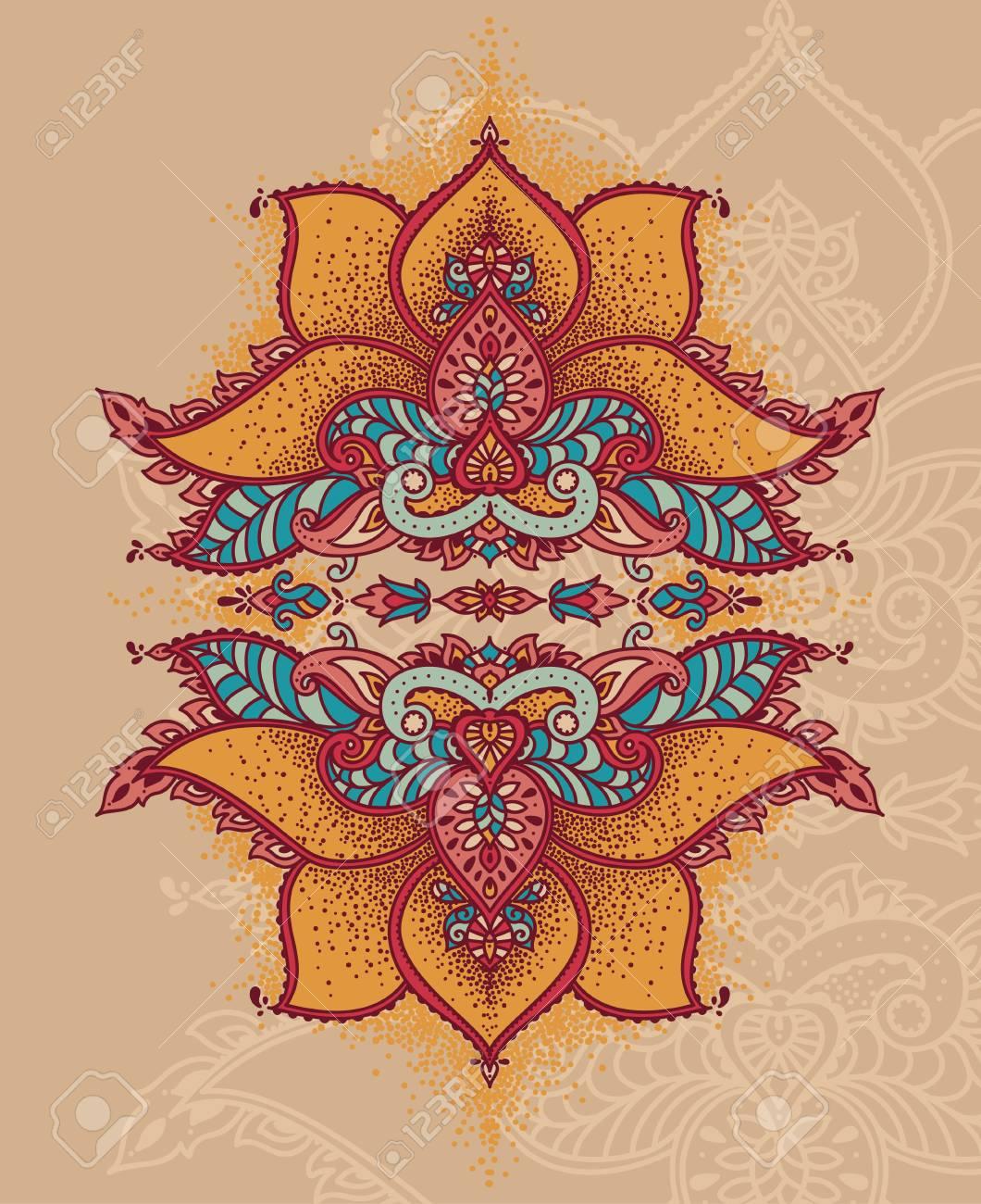 Royal magical ornament stylized lotus flower in indian style royal magical ornament stylized lotus flower in indian style can be used for tattoo izmirmasajfo