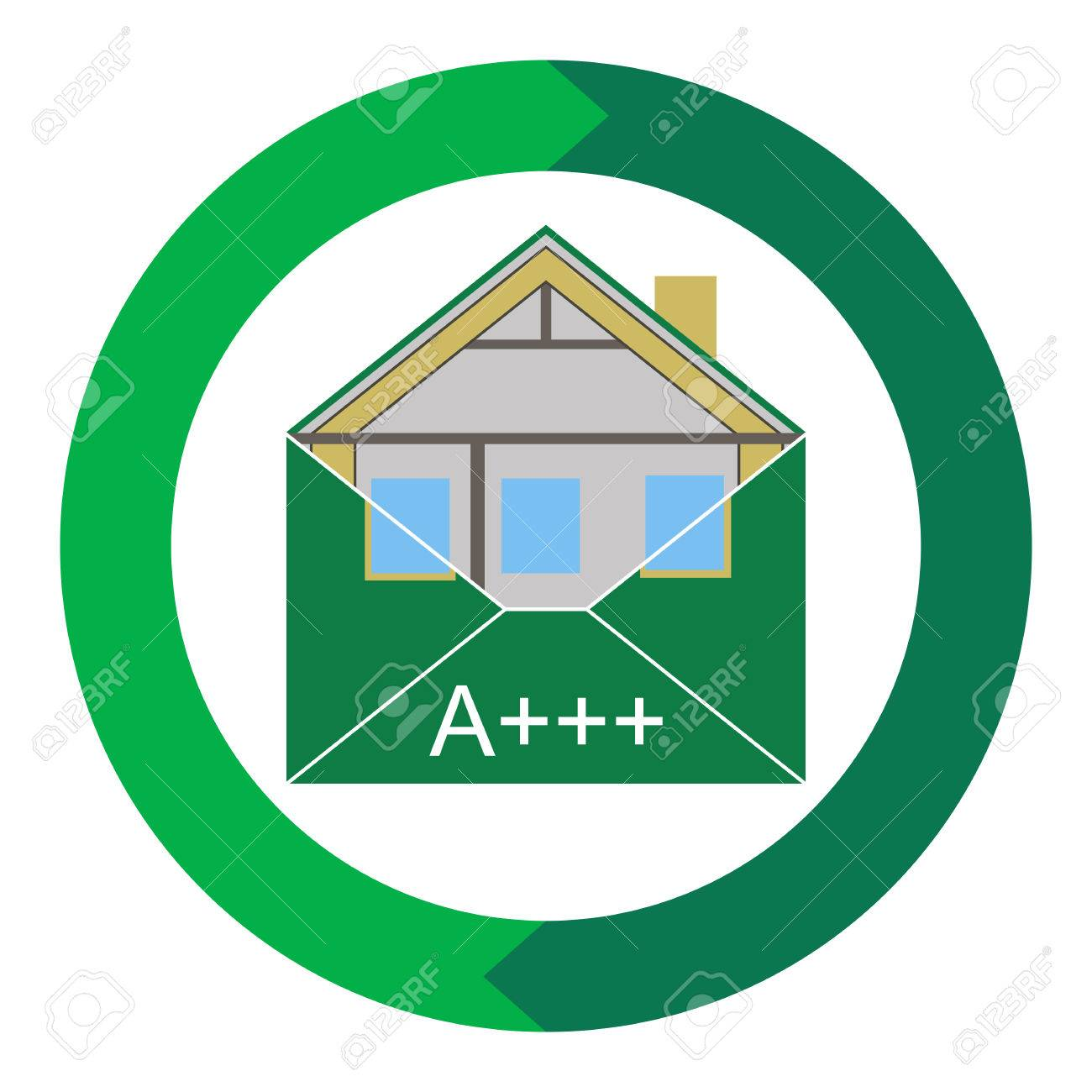House Eco Green Building Envelope Energy Efficiency Weatherization  Construction Standards Home Insulation Thermal Environmentally Friendly And
