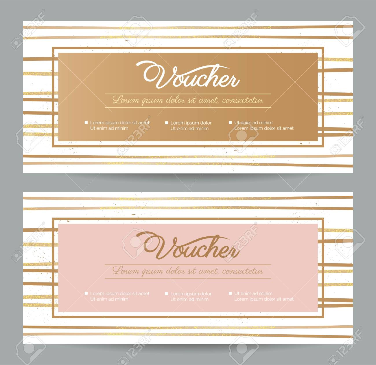 Gift Voucher Coupon Discount Gift Certificate Template With