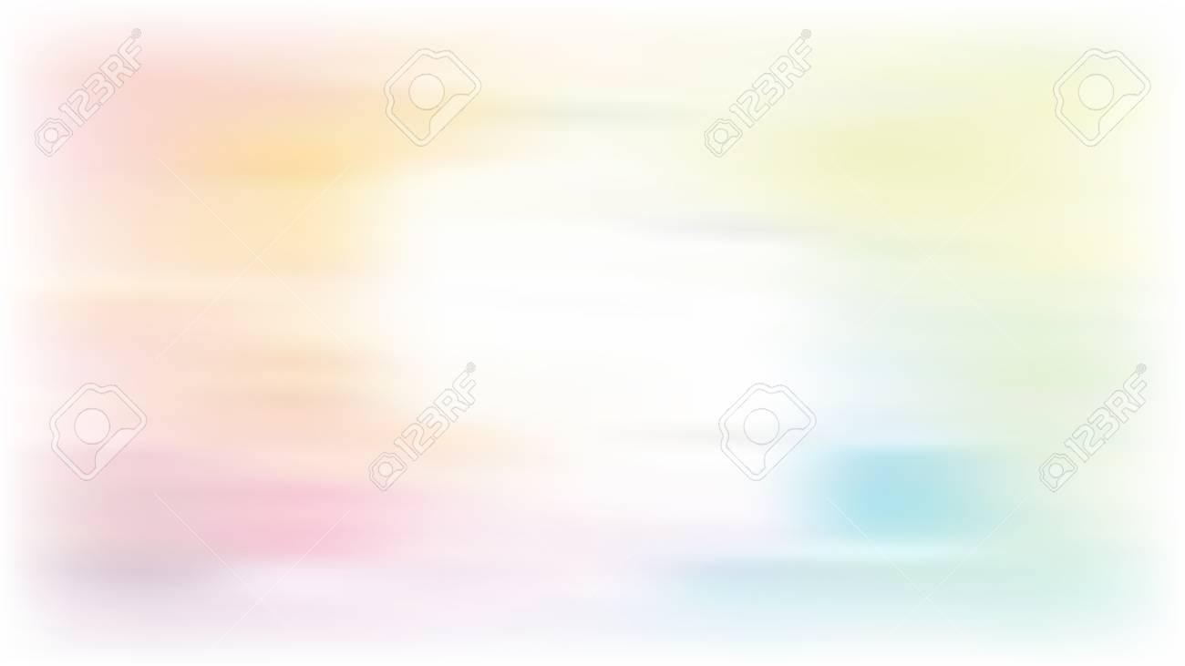 Vector colorful blur background with white centre for web - 124637604