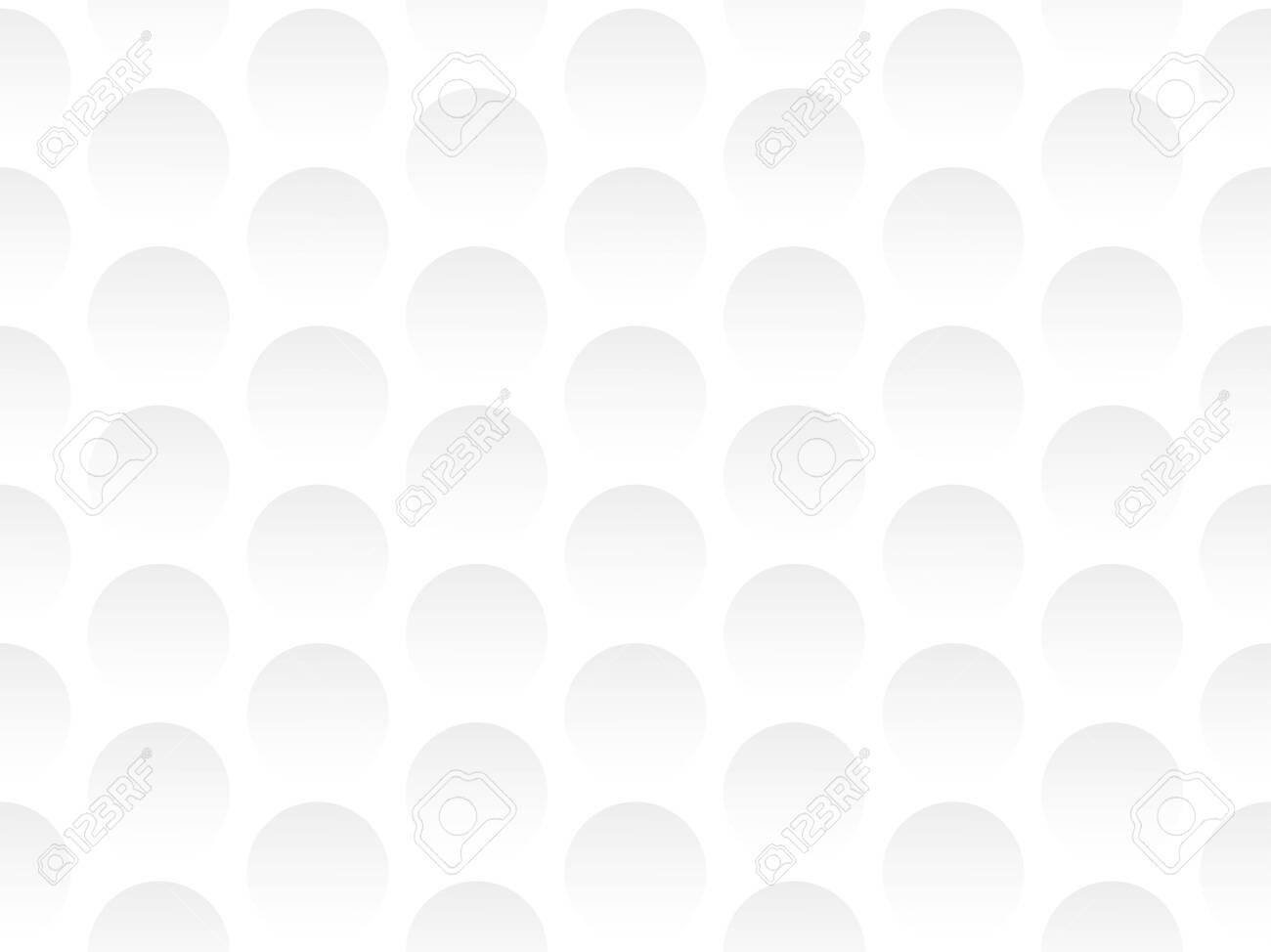 Vector seamless texture with 3d balls - 124115217