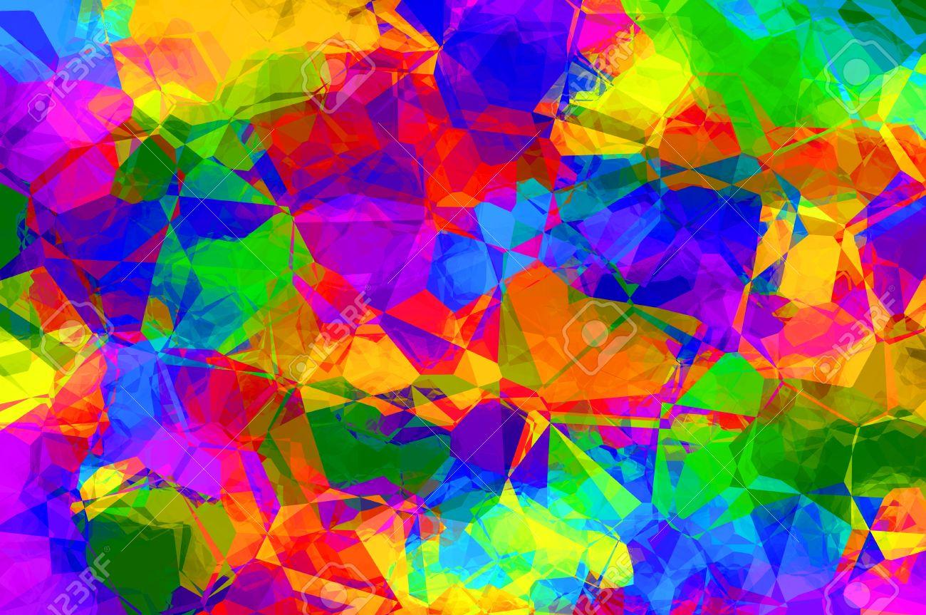 Fondo de pantalla abstracto multicolor