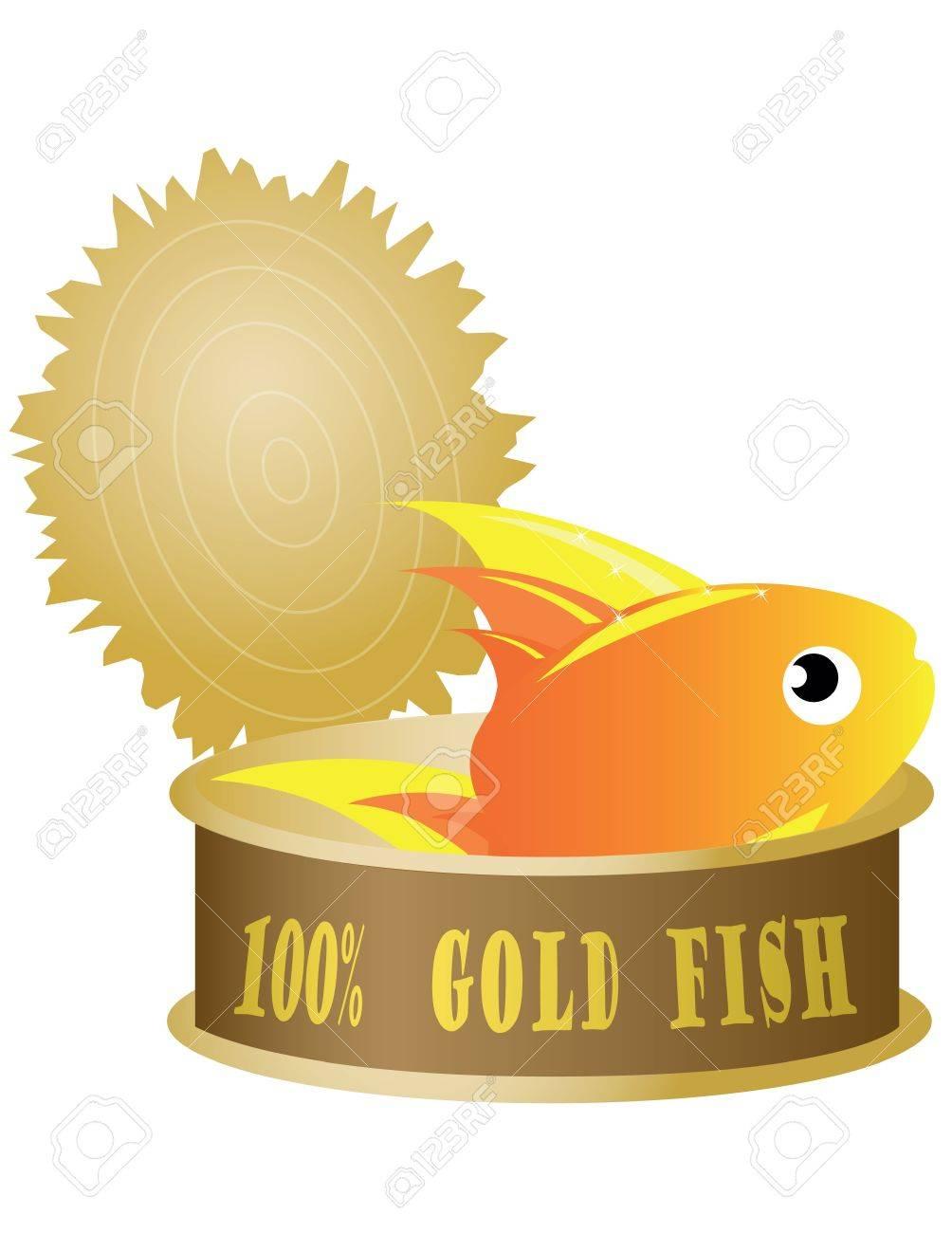 fish on tuna Stock Vector - 10521929